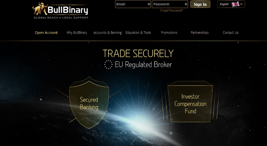 Regulated binary options brokers europe
