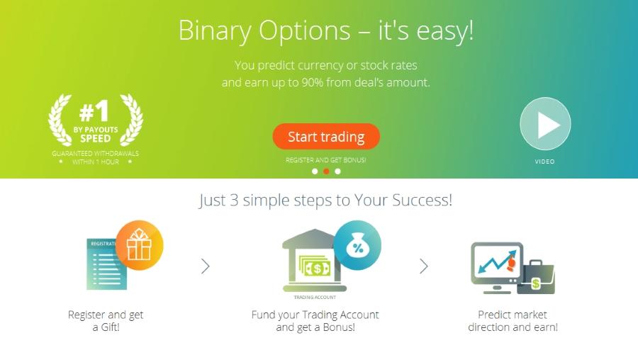 Finpari binary options