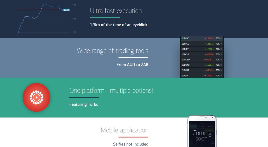 Virtual binary option trading