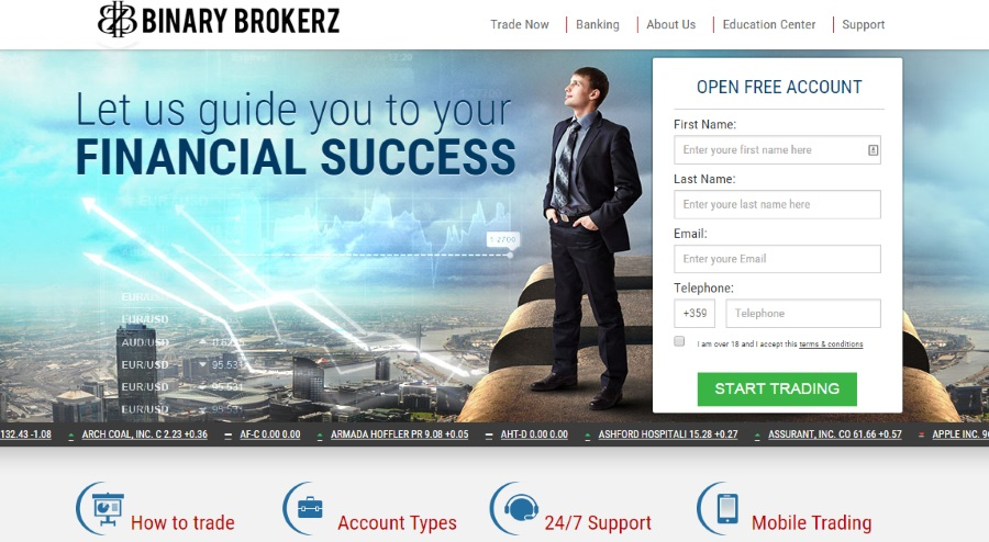 Best option broker 2017