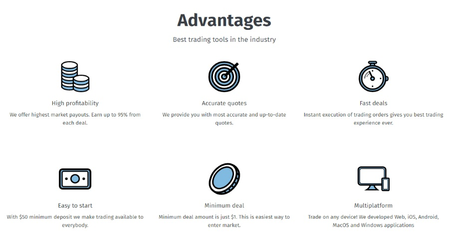 ExpertOption Advantages