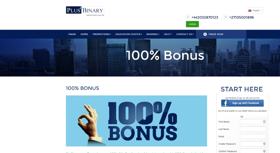 Best binary options bonuses